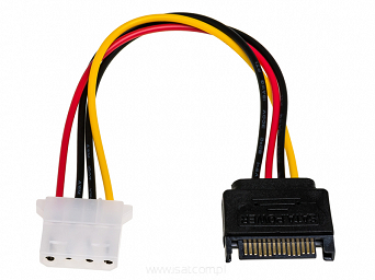 adapter na kablu Sata do Molex 12cm